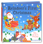 Reindeer's First Christmas Popup Book (With a Pop-up on Every Page!)
