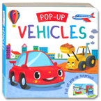 Pop Up - Vehicles Board Book (Full of pop-up surprises!)