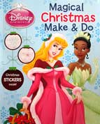 Disney Princess Magical Christmas Make & Do Activity Book with Christmas Stickers inside!