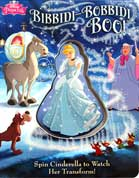 Disney Princess Bibbidi-Bobbidi Boo! Board Book - Spin Cinderella to watch her transform!