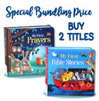 PROMO Special Price Paket Bundling 2 judul: My First Bible Stories & My First Prayers Board Book