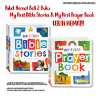 Paket Hemat My First Bible Stories & My First Prayer Book
