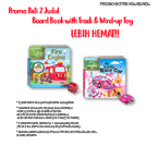 PROMO Paket Bundling Beli 2 Judul Board Book with Track & Wind-up Toy LEBIH HEMAT!!