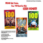 PROMO Beli 6 buku Over 100 Facts For Kids LEBIH HEMAT!!