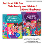 PROMO Special Price Paket Bundling 2 Judul Sticker Dress Up (Beautiful Ballerina dan Best Friends)