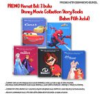 PROMO Paket Hemat Beli 3 buku Disney Movie Collection Story Books (Bebas Pilih Judul)