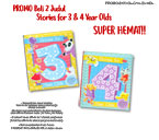 PROMO Paket Hemat 2 buku Stories for 1, 2, 3, 4 Year Olds (bebas pilih judul)