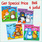 PROMO Special Price Paket Bundling 4 Judul Are You My Mummy Touch & Feel Board Books (BUNNY, DUCKLING, TIGER, POLAR BEAR)