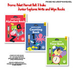 Promo Paket Hemat Beli 3 buku Junior Explores Write and Wipe Books