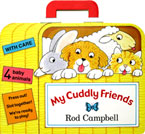 My Cuddly Friends with 4 Baby Animals Press Out!