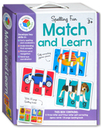 Spelling Fun Match and Learn Jigsaw Cards