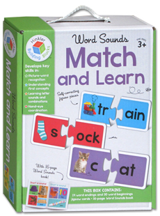 Word Sounds Match and Learn Jigsaw Cards