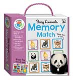 Baby Animals Memory Match Game