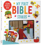 My First Bible Stories Jigsaw Puzzle & Book