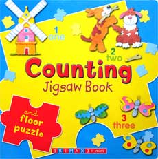 Counting Jigsaw Board Book and Number Floor Puzzle