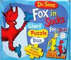Dr.Seuss Fox in Socks Giant Puzzle Box (48-piece floor puzzle)