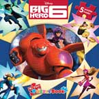 My First Puzzle Book Disney Big Heroes (5 Puzzles Inside!)