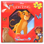 My First Puzzle Book Disney The Lion King (5 Puzzles Inside!)