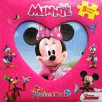 My First Puzzle Book Minnie Mouse (5 Puzzles Inside!)
