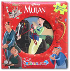 My First Puzzle Book Disney Mulan (5 Puzzles Inside!)