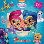 My First Puzzle Book Nickelodeon Shimmer and Shine (5 Puzzles Inside!)