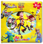 My First Puzzle Book Disney Toy Story 4 (5 Puzzles Inside!)