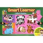 Smart Learner Animal Kingdom includes 2 Block Books & 4 Puzzles