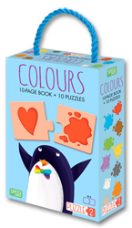 Puzzle 2 - Colours (Includes 10 Page Book + 10 Piece Puzzles)
