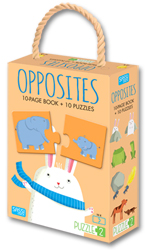 Puzzle 2 - Opposites (Includes 10 Page Book + 10 Piece Puzzles)