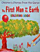 The First Man on the Earth Colouring Book - Children's Stories from the Quran