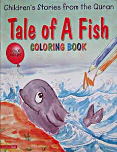 Tale of A Fish Colouring Book - Children