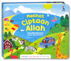 Melihat Ciptaan Allah Board Book (With Flashlight, Wipe and Clean, Lift-the-Flap)