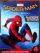 Marvel Spiderman Homecoming Awesome Activities Book with colouring, mazes, puzzles and more!