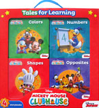 Disney Mickey Mouse Clubhouse Tales for Learning Box Set contains 4 board books