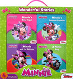 Disney Minnie Mouse Wonderful Stories Box Set contains 4 board books