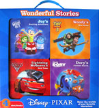 Disney Pixar Wonderful Stories Box Set contains 4 board books