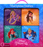 Disney Princess Marvelous Stories Box Set contains 4 board books