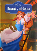 Disney Princess Beauty and the Beast Story Book (with padded cover)