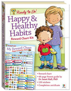 Ready to Go! Happy & Healthy Habits - Character Building Reward Chart Kit (SALE!!)