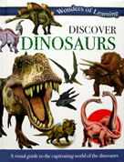 Discover Dinosaurs Wonders of Learning Reference Book
