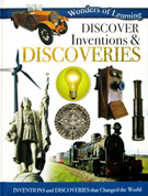 Discover Inventions & Discoveries Wonders of Learning Reference Book