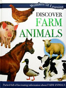 Discover Farm Animals Wonders of Learning Reference Book