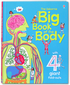 The Usborne Big Book Of The Body With 4 Giant Fold-outs