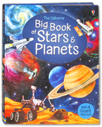 The Usborne Big Book Of Stars & Planets With 4 Giant Fold-outs