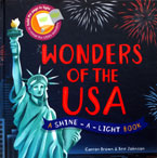 Wonders of the USA A Shine-a-light Book (Hard Cover) (SALE!!)