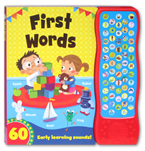 First Words Sound Book with 60 Early Learning Sounds!