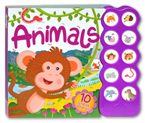 Animals Sound Board Book with 10 Great Sounds