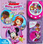 Disney Junior CD Music Player Storybook with 16 Tunes (Portable Music Player & 3 CDs)