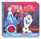 Disney Frozen II Story Sound Book with 4 fun sounds!