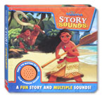 Disney Moana Story Sound Book with 4 fun sounds!